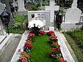 Bucuresti, Romania,Cimitirul Bellu Catolic, Mormantul Compozitorului Dan Iagnov, mai 2014.JPG