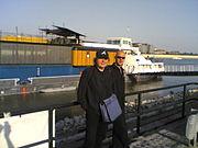 Marcin Oleś i Theo Jörgensmann w Budapest         Concert-Hall Ship A 38, 7 września 2006