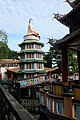 Buddha atop pagoda, Haw Par Villa (14607427597).jpg