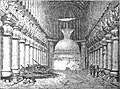 Buddhist rock temple at Karli - Page 294 - History of India Vol 1 (1906).jpg