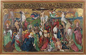 Buhl Altarpiece - Image: Buhl St Jean Baptiste 26