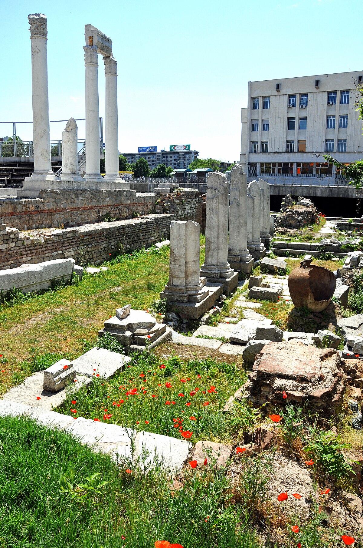 Roman Forum Plovdiv Wikipedia
