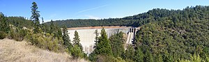 Yuba County, California - Image: Bullards Bar Dam