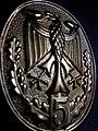Bundesadler Bundeswehr Schützenschnur GOLD Fünfte Verleihung der Auszeichnung.jpg