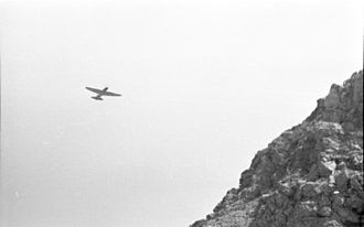 Battle of the Kerch Peninsula - Ilyushin Il-2 flying over German lines near Kerch, May 1942