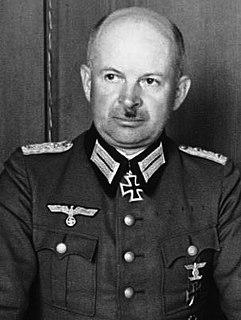Kurt Zeitzler Wehrmacht general