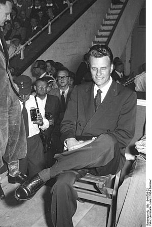 Los Angeles Crusade (1949) - Billy Graham in 1954