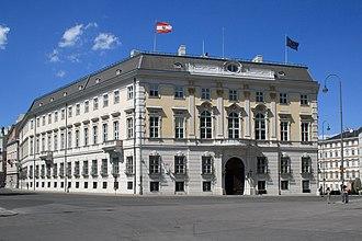 Federal Chancellery of Austria - Image: Bundeskanzleramt Ballhausplatz Wien 2007