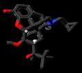 Buprenorphine molecule from xtal skeletal.png