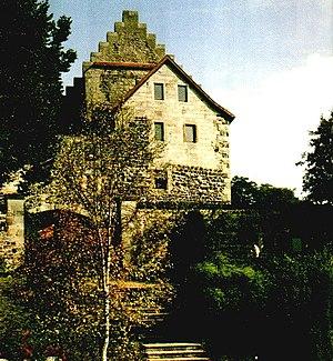 Fürsteneck Castle - Fürsteneck Castle from the south