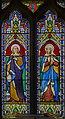 Burgh on Bain, St Helens church, Stained glass window (21260479243).jpg