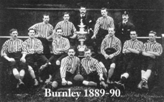 Burnley F.C. - The Burnley team of 1889
