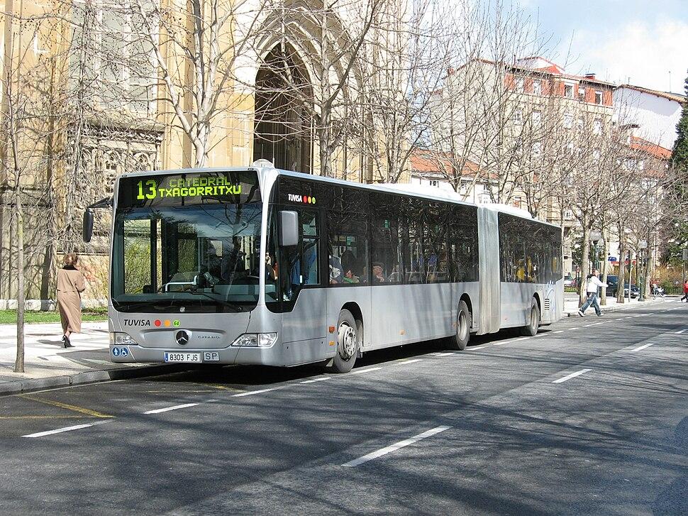 Bus MB Citaro G Tuvisa 64