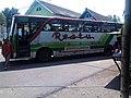 Bus PO RESTU lama trayek Banyuwangi-Jember-Probolinggo-Surabaya yang jelek dan sepertinya ijin trayeknya patut diragukan, lagi ngetem di dekat stasiun Bangil - panoramio.jpg