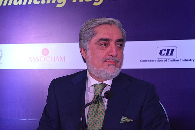 Afghanistan's Chief Executive Officer, CEO, Dr. Abdullah Abdullah