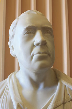 St. Matthew's United Church (Halifax) - Image: Bust of Rev Andrew Brown by Thomas Campbell (1815), Old College, Edinburgh University