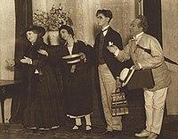 Byström, Tidblad, Billberg och Cederborg i Alarmklockan (ur VJ 37 1925).jpg