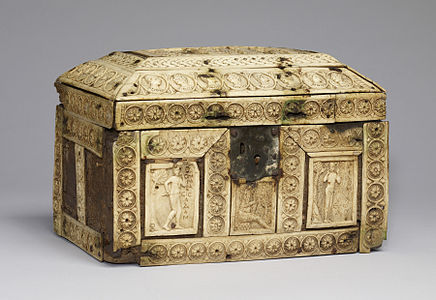 Byzantine - Box with Scenes from the Fall of Adam and Eve and the Story of Joseph