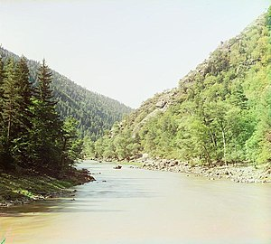 Bzyb River - Photo ca. 1910