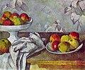 Cézanne - Stillleben mit Äpfeln und Fruchtschale.jpg