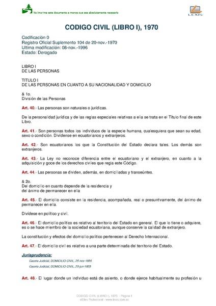 File:Código civil del Estado ecuatoriano, libro I, 1970