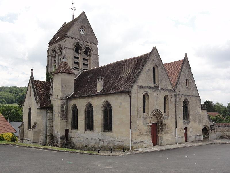 Cœuvres-et-Valsery (Aisne) église