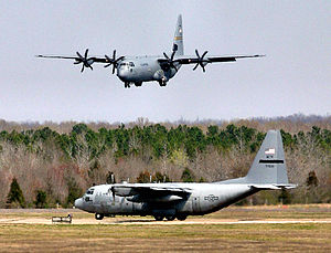 19th Operations Group - C-130Js at Little Rock AFB