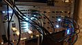 C-g's modular synthesizer - All white lights (where possible) (2014-11-17 20.41.37 by c-g.).jpg