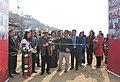 C.L. Ruala inaugurating the Public Information Campaign, organised by the PIB, Aizawl, at Khawlailung, Model Village selected by him under the Saansad Adarsh Gram Yojana (SAGY), in Serchhip District, Mizoram.jpg