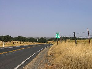 California State Route 49 - SR 49 in Tuolumne County