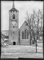 CH-NB - Moudon, Temple St-Etienne, vue partielle extérieure - Collection Max van Berchem - EAD-7383.tif
