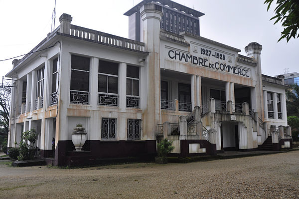 Chamber of commerce douala 1927 1928 for Chambre de commerce wikipedia