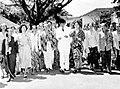 COLLECTIE TROPENMUSEUM In juni 1950 organiseerde de leiding van de KOWANI (Kongres Wanita Indonesia) in Djakarta een congres dat door alle afdelingen in Indonesië werd bijgewoond TMnr 10000216.jpg