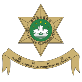 Public Security Police Force of Macau One of the two components of the Serviços de Polícia Unitários, responsible for public safety in Macao.
