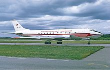 View of a tupolev tu-124