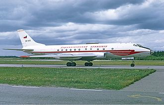 Czech Airlines - Image: CSA Tupolev Tu 124 Soderstrom 3