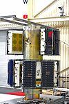 CYGNSS spacecraft in Vandenberg Building 1555 (VAFB-20161013-PH RNB01 0003).jpg