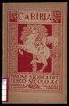 Cabiria - visione storica del terzo secolo a.C. by Gabriele D'Annunzio (Didascalie di Gabriele D'Annunzio per il film muto di Giovanni Pastrone).pdf