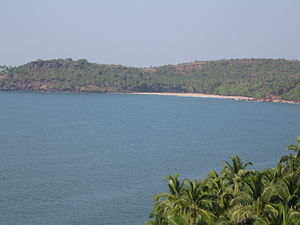 Cabo de Rama - View from Cabo de Rama fort