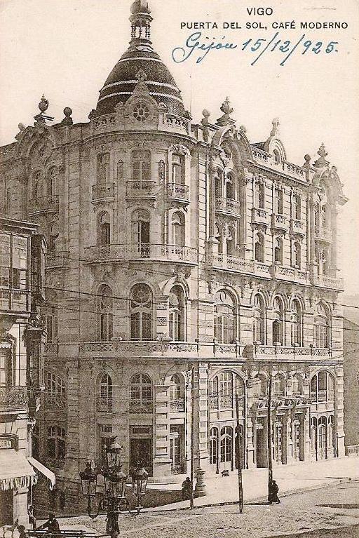 Café Moderno, 1925, Vigo, Hauser y Menet