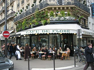 Coffeehouse - Café de Flore, Paris.