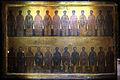 Cairo, monastero di san mercurio, icona di santi.JPG