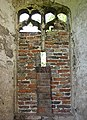 Caister Castle - bricked-up window in west wall - geograph.org.uk - 808715.jpg