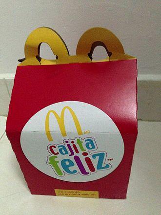 "Happy Meal - ""Cajita Feliz"" box"