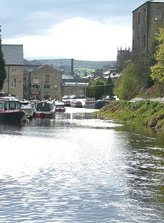 Calder and Hebble Navigation inland waterway in West Yorkshire, England