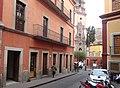 Calle Ponciano Aguilar y Templo de La Compañía, Guanajuato Capital, Guanajuato.jpg