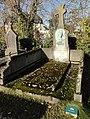 Cambrai - Cimetière de la Porte Notre-Dame, sépulture remarquable n° 19, Paul Devred, tombe remarquable (01).JPG