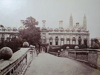 Richard Badew - Cambridge University, Clare College