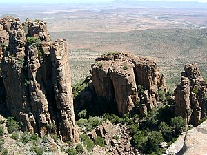 Camdeboo National Park - The Valley of Desolation
