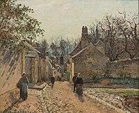 Camille Pissarro - La Rue de Voisins 1871.jpg
